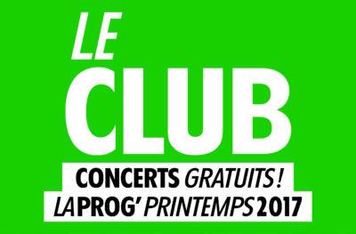 Les concerts club gratuits du Brise Glace !