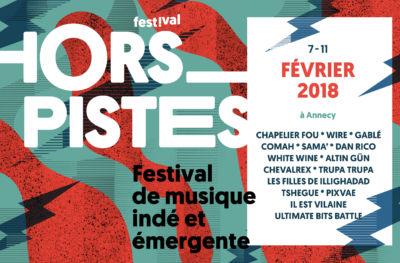 Hors Pistes 2018 : le line up !