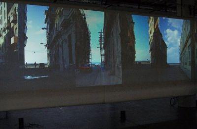 imagespassages au Brise Glace – vidéo installation