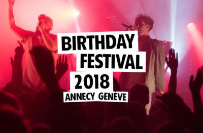 Birthday Festival 2018