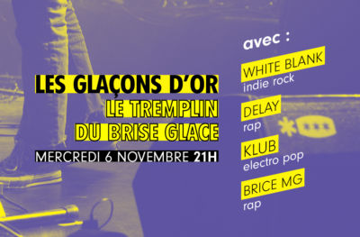 White Blank, Delay, Klub & Brice MG sur la scène du club !